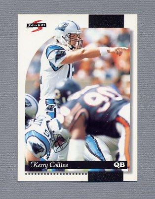 1996 Score Football #046 Kerry Collins - Carolina Panthers