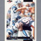 1996 Score Football #046 Kerry Collins - Carolina Panthers