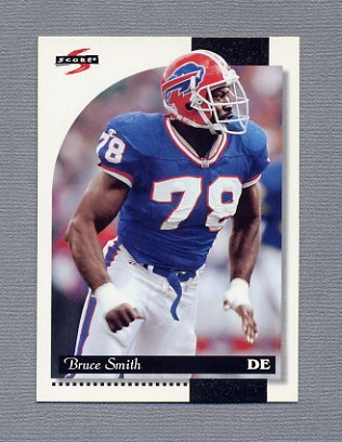 1996 Score Football #004 Bruce Smith - Buffalo Bills