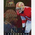 1995 Score Football Dream Team #DT9 Deion Sanders - San Francisco 49ers
