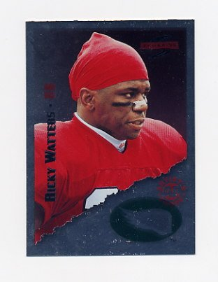 1995 Score Football Red Siege Artist's Proofs #183 Ricky Watters - Philadelphia Eagles