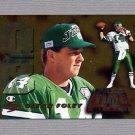 1995 Score Football Pass Time #PT5 Glenn Foley - New York Jets