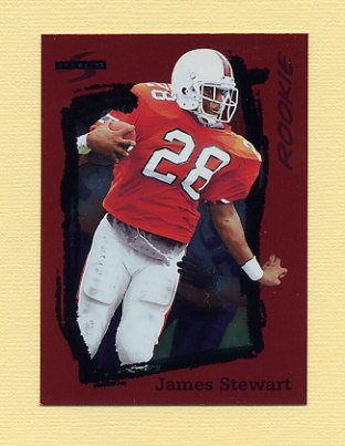 1995 Score Football Red Siege #275 James A. Stewart RC - Minnesota Vikings