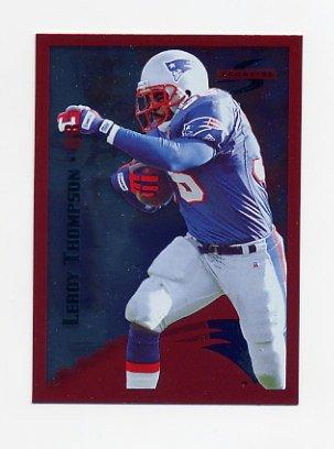 1995 Score Football Red Siege #141 Leroy Thompson - New England Patriots