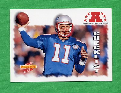 1995 Score Football #240 Drew Bledsoe CL - New England Patriots
