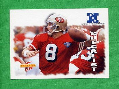 1995 Score Football #239 Steve Young CL - San Francisco 49ers