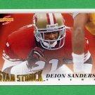 1995 Score Football #217 Deion Sanders SS - San Francisco 49ers