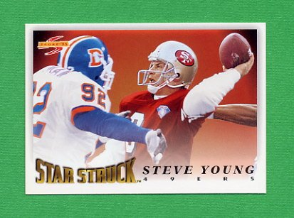 1995 Score Football #205 Steve Young SS - San Francisco 49ers