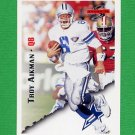 1995 Score Football #015 Troy Aikman - Dallas Cowboys