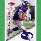 1995 Score Football #011 Cris Carter - Minnesota Vikings