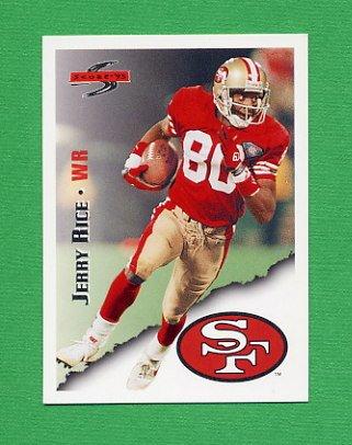 1995 Score Football #003 Jerry Rice - San Francisco 49ers