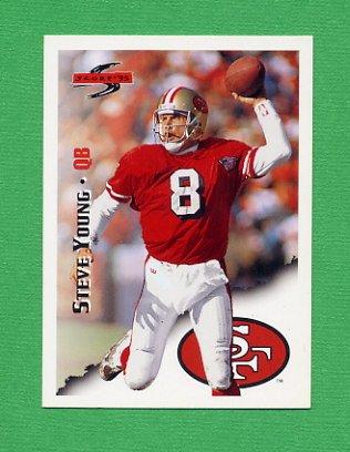1995 Score Football #001 Steve Young - San Francisco 49ers