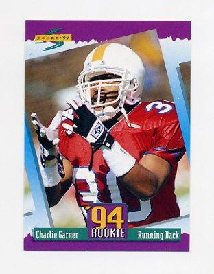 1994 Score Football #300 Charlie Garner RC - Philadelphia Eagles