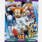 1994 Score Football #276 Heath Shuler RC - Washington Redskins