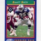 1992 Score Football #065 Emmitt Smith - Dallas Cowboys NM-M