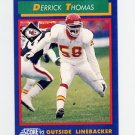 1992 Score Football #020 Derrick Thomas - Kansas City Chiefs