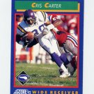 1992 Score Football #019 Cris Carter - Minnesota Vikings