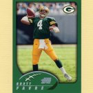 2002 Topps Football #176 Brett Favre - Green Bay Packers