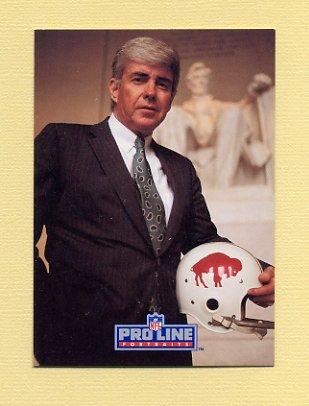 1991 Pro Line Portraits Football #225 Jack Kemp RET - Buffalo Bills