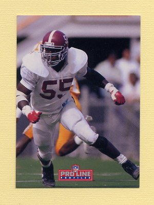 1992 Pro Line Profiles Football #362 Derrick Thomas - Kansas City Chiefs