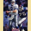 1992 Pro Line Profiles Football #187 Troy Aikman - Dallas Cowboys
