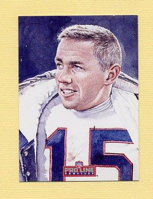 1992 Pro Line Profiles Football #158 Jack Kemp RET - Buffalo Bills