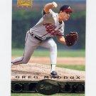 1997 Pinnacle Baseball #189 Greg Maddux CT - Atlanta Braves