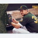 1997 Pinnacle Baseball #107 Terry Steinbach - Oakland A's