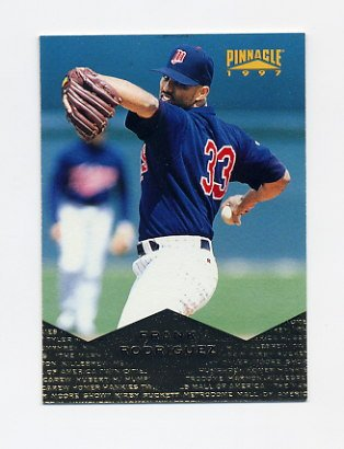 1997 Pinnacle Baseball #089 Frank Rodriguez - Minnesota Twins