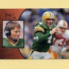 1996 Select Football Promos #19 Brett Favre - Green Bay Packers