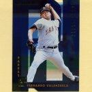 1997 Donruss Baseball Gold Press Proofs #203 Fernando Valenzuela - San Diego Padres