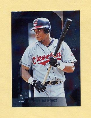 1997 Donruss Baseball Silver Press Proofs #011 Manny Ramirez - Cleveland Indians