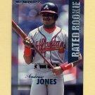 1997 Donruss Baseball Rated Rookies #20 Andruw Jones - Atlanta Braves