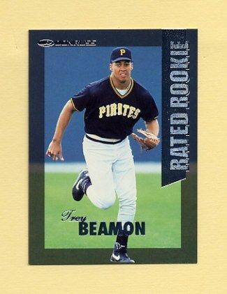 1997 Donruss Baseball Rated Rookies #04 Trey Beamon - Pittsburgh Pirates
