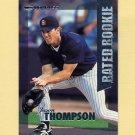 1997 Donruss Baseball Rated Rookies #01 Jason Thompson - San Diego Padres