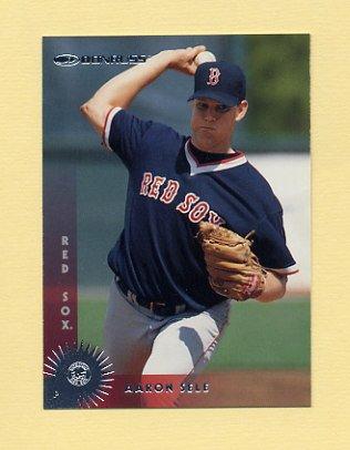 1997 Donruss Baseball #319 Aaron Sele - Boston Red Sox