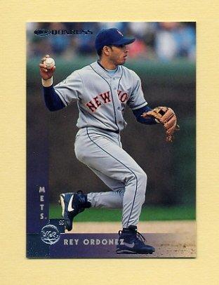 1997 Donruss Baseball #232 Rey Ordonez - New York Mets