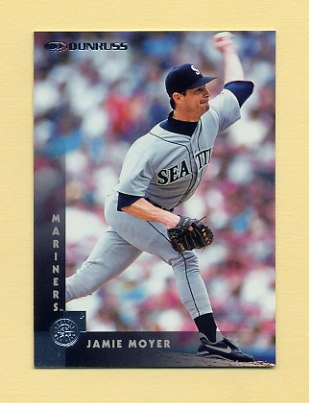 1997 Donruss Baseball #224 Jamie Moyer - Seattle Mariners