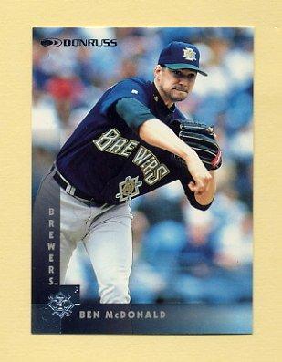 1997 Donruss Baseball #178 Ben McDonald - Milwaukee Brewers