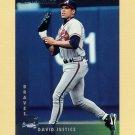 1997 Donruss Baseball #175 Dave Justice - Atlanta Braves