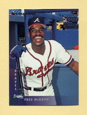 1997 Donruss Baseball #170 Fred McGriff - Atlanta Braves