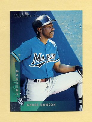 1997 Donruss Baseball #142 Andre Dawson - Florida Marlins