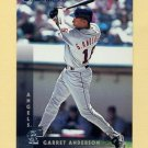 1997 Donruss Baseball #141 Garret Anderson - Anaheim Angels