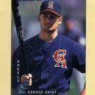 1997 Donruss Baseball #127 George Arias - Anaheim Angels