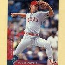 1997 Donruss Baseball #109 Roger Pavlik - Texas Rangers