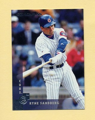 1997 Donruss Baseball #072 Ryne Sandberg - Chicago Cubs