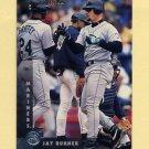 1997 Donruss Baseball #058 Jay Buhner - Seattle Mariners
