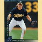 1997 Donruss Baseball #047 Jason Giambi - Oakland A's