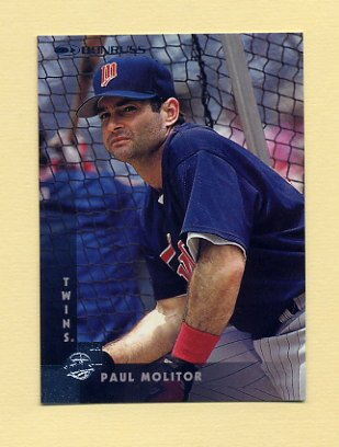 1997 Donruss Baseball #039 Paul Molitor - Minnesota Twins