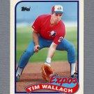 1989 Topps Baseball Tiffany #720 Tim Wallach - Montreal Expos